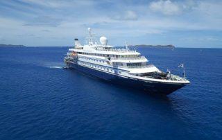 Champagnecruise - SeaDream schip