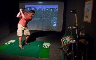 Champagnecruise - golf simulator
