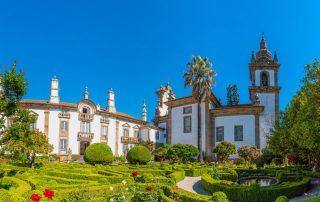 Rondreis Portugal - tuinen van Casa de Mateus