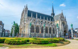 Bruisende overnachting in Brussel - Onze-Lieve-Vrouw ter Zavelkerk