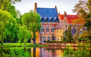 Elegante overnachting in Brugge - Minnewater