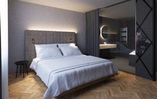 Wenen - Kamer in Hotel am Konzerthaus