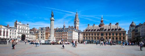 Met Edward en Dimitri De Maesschalck naar Roubaix, Rijsel en Arras