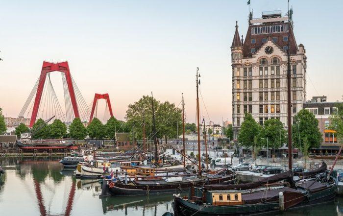 Met Marc Dubois naar Rotterdam