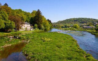 De charme en rust van de Belgische Ardennen - De Semois in de buurt van Bertrix