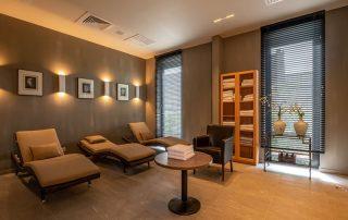 Kasteel van Ordingen - Relaxatieruimte ©archi-foto.be