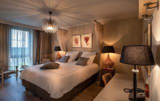 Kasteel van Ordingen - Voorbeeld van een luxekamer ©archi-foto.be
