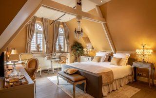 Kasteel van Ordingen - Voorbeeld van een suite ©archi-foto.be