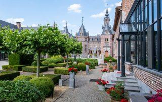 Kasteelovernachting in hartje Haspengouw - Binnentuin van het Kasteel van Ordingen - Binnentuin ©archi-foto.be