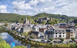 La Roche-en-Ardenne - Zicht op het stadje